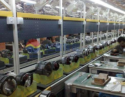 电机行业生产线案例一