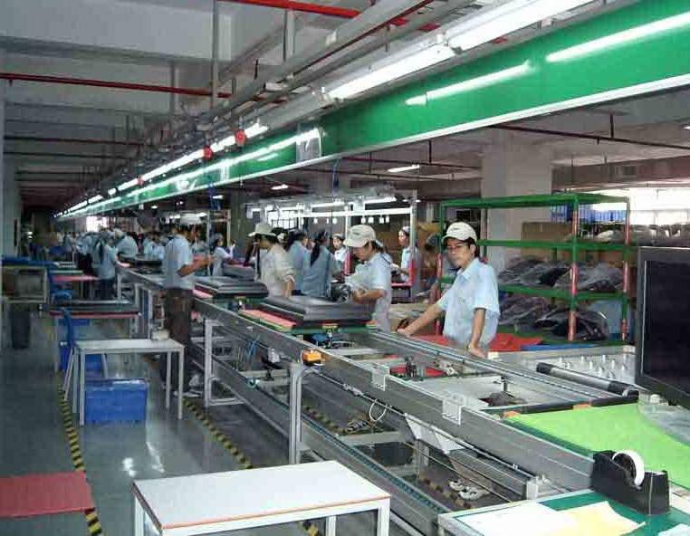服装生产线案例