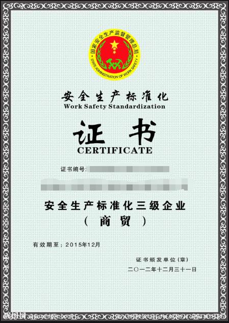 甘肃安全生产标准化报告