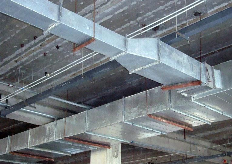 成都镀锌铁皮风管在使用中具备哪些优点?