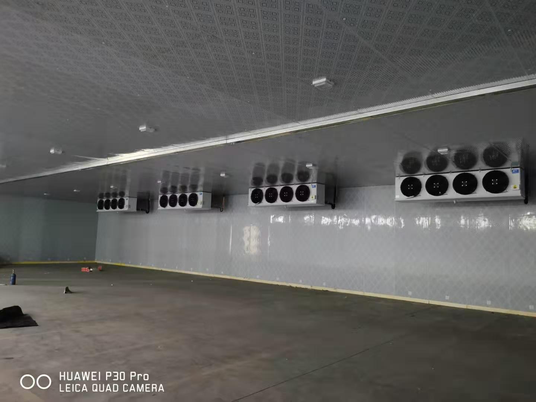 襄阳大型冷库安装施工中