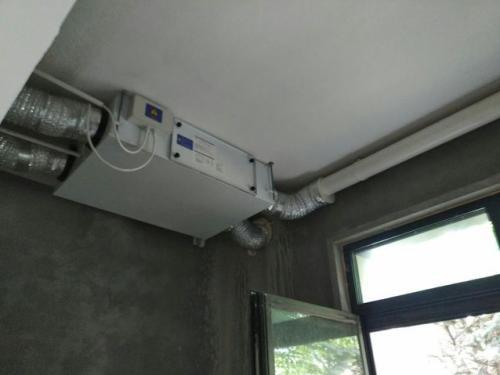 新风系统安装
