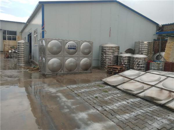 不锈钢水箱厂区环境