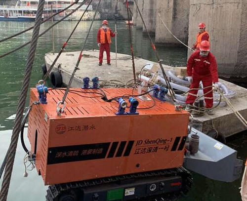 河南水下清淤工程