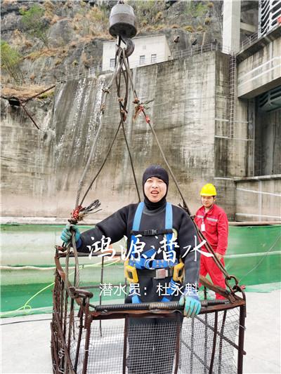 云南溪洛渡水电站—水下碎石清理案例