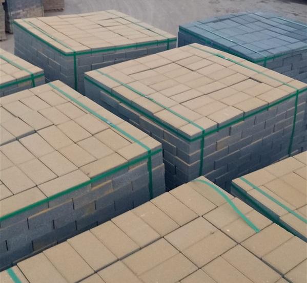 河南透水砖竟然还可以回收再利用再制成新的透水砖