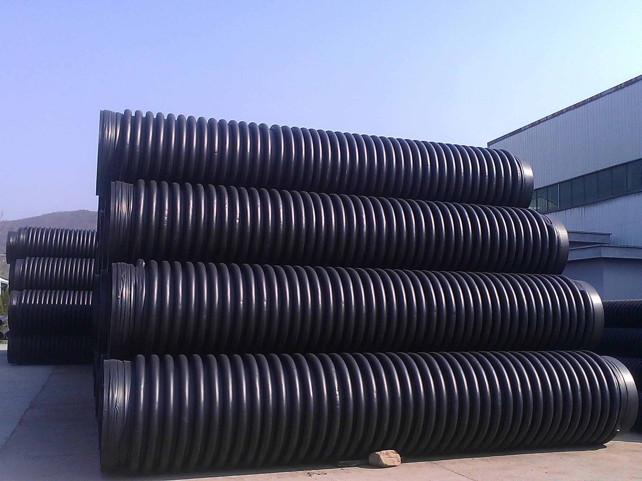 乐山聚乙烯缠绕结构壁C型管