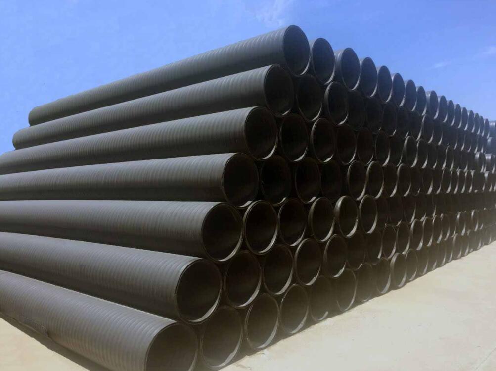 成都双平壁钢塑管厂家分享HDPE双平壁钢塑复合排水管的相关特点