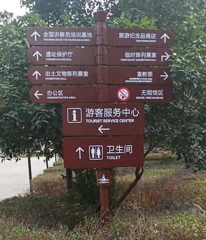 景区导视标识牌
