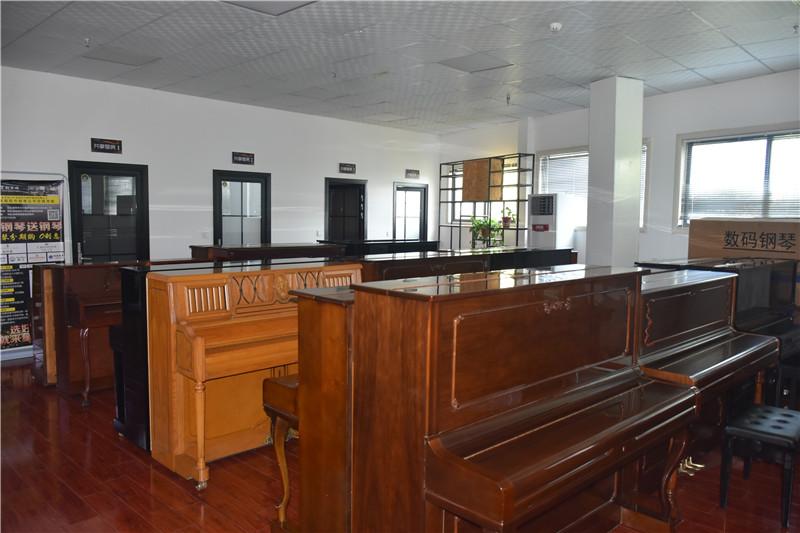 各类型钢琴展示