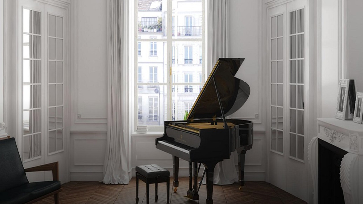 S 型号,三角钢琴