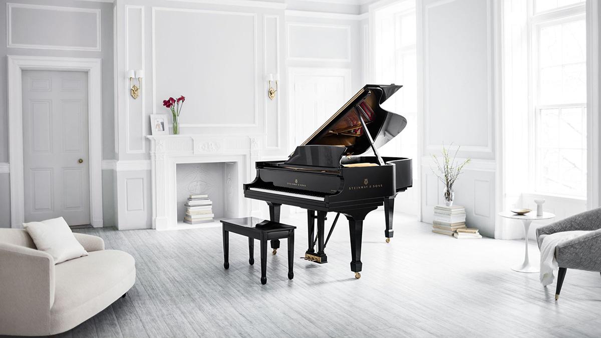 B 型号,三角钢琴