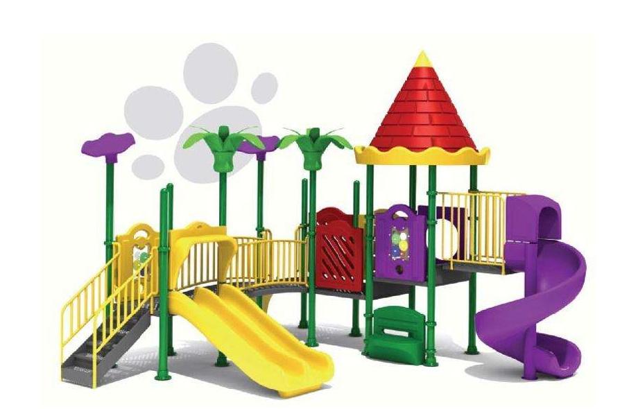 现在室外(户外)游乐园设备选择方向:大型组合滑梯