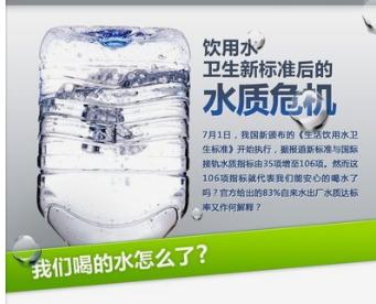 饮用水水质标准
