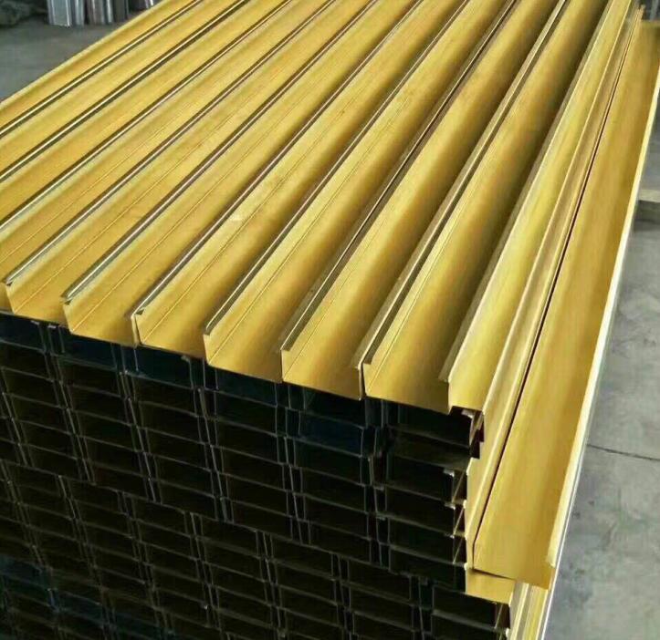 金色槽式桥架供应