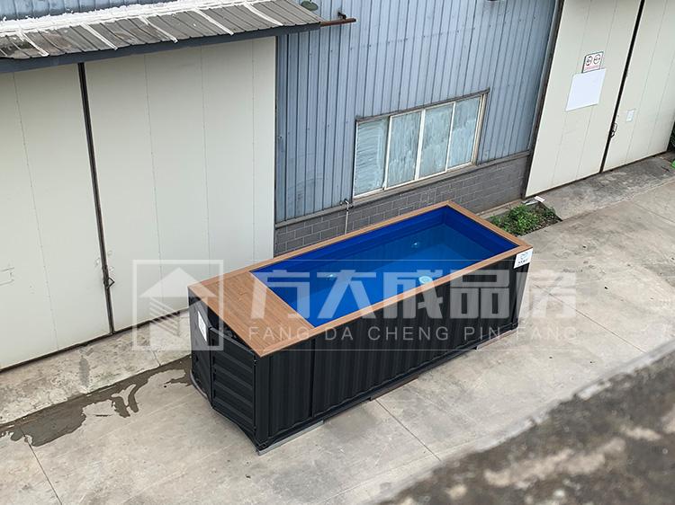 新西兰集装箱泳池出口