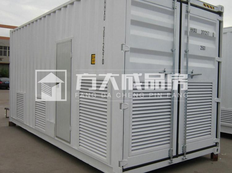 雅安工地集装箱中央空调设备房