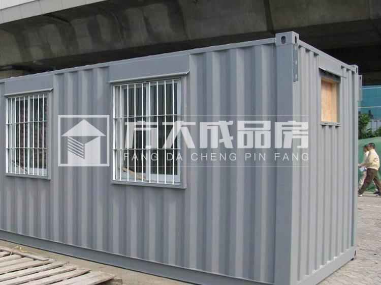 乐山灰色6米集装箱供电机械设备房