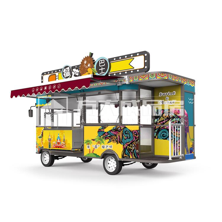 成都移动饮品售卖餐车来电定制厂家直销