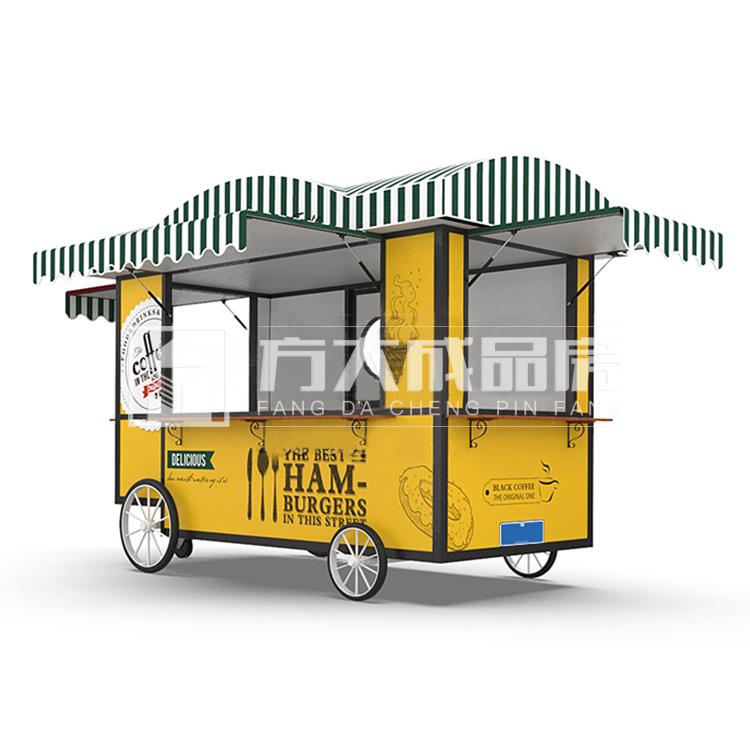 乐山移动咖啡饮品售卖美食餐车现货促销
