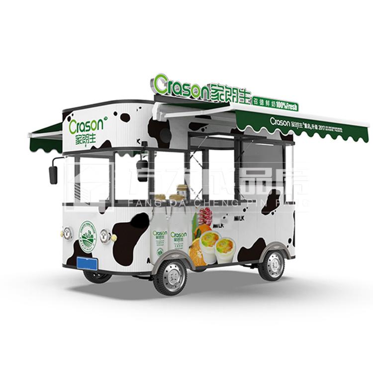 乐山移动售货餐车鲜奶促销摊来电定制