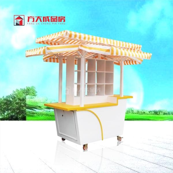 重庆移动售货花车