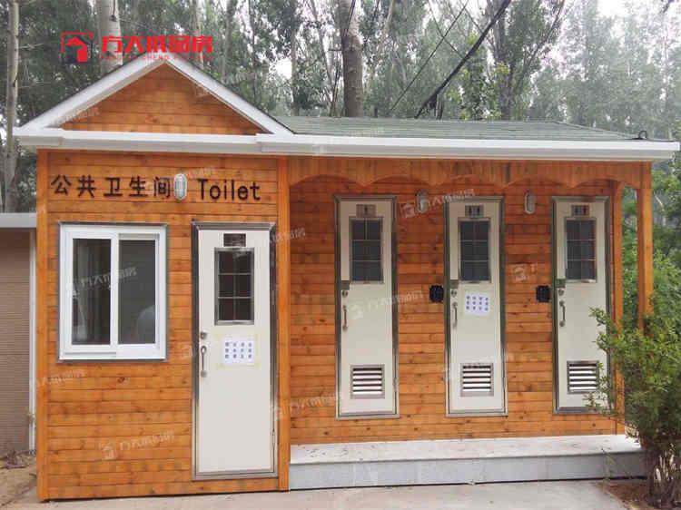 甘肃景区仿古厕所定制