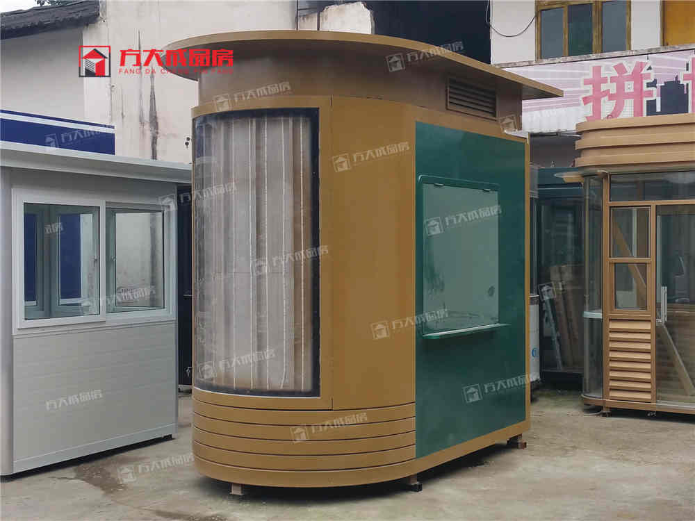 泸州移动售货亭制作