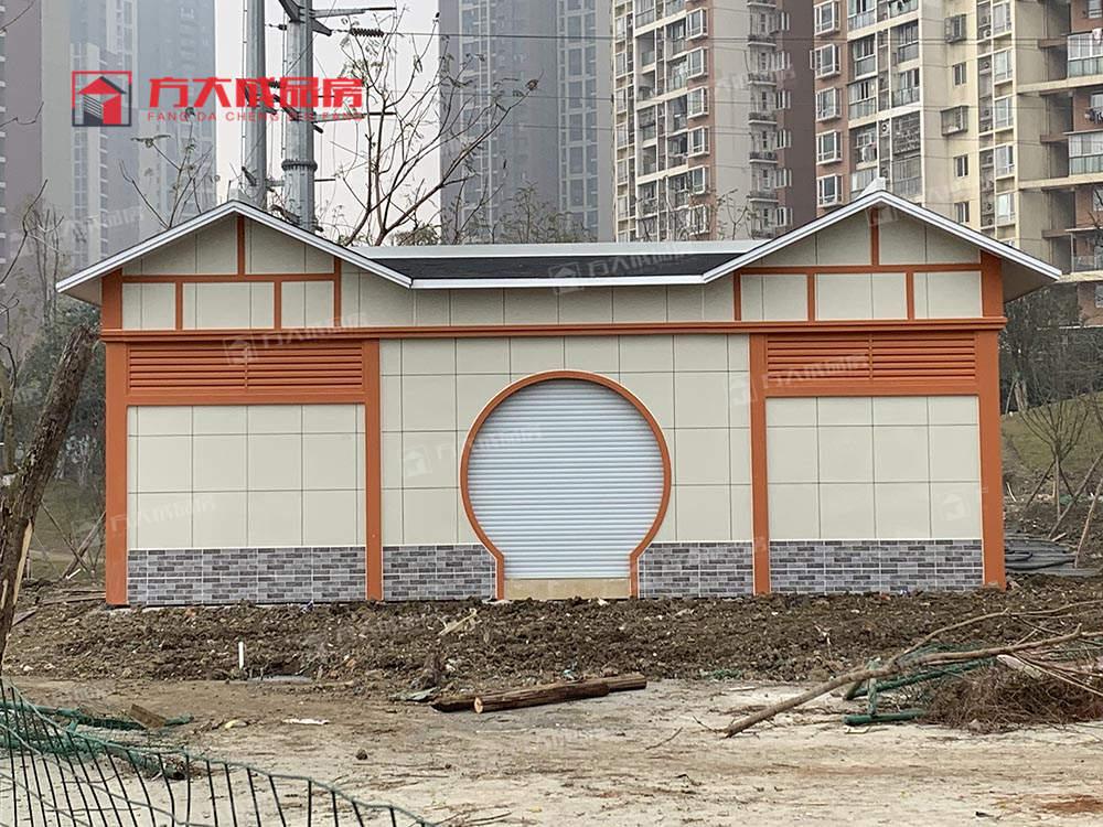城市生态厕所改造