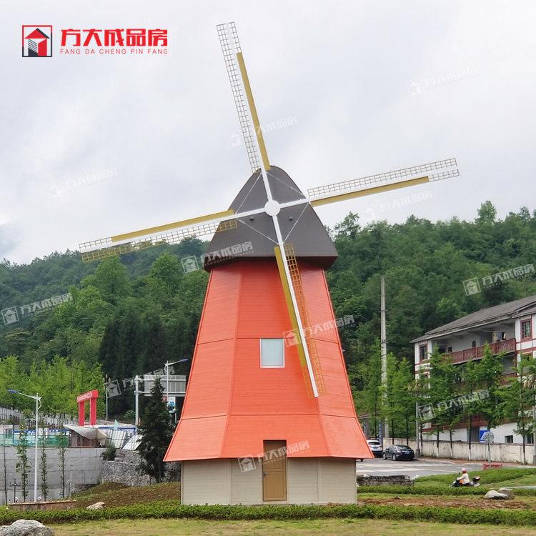 西藏防腐木岗亭