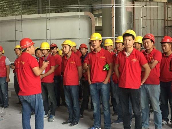 西安火龙宇装饰工程服务有限公司工厂施工团队