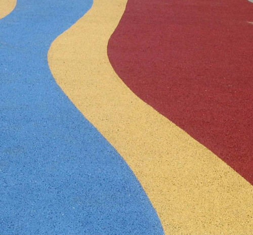 成都彩色透水地坪有哪些优点?