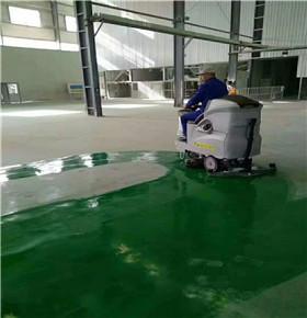 厂房环氧地坪清洁