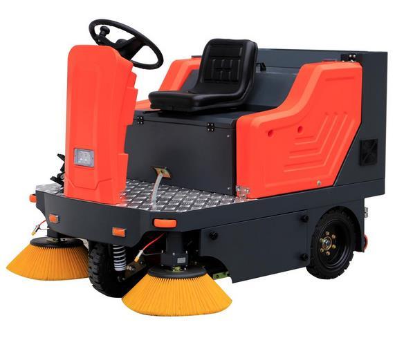 工厂为什么采用电动扫地机来进行清洁?