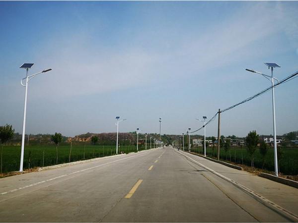 孟津平乐镇金村太阳能路灯