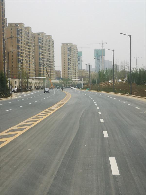洛阳偃师滨河路12米单臂路灯