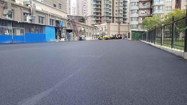 郑州沥青道路铺装施工完成