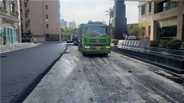 郑州沥青道路施工