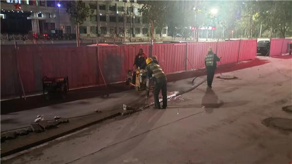 郑州沥青道路:停车场沥青路面铺装
