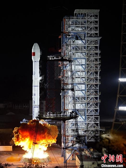 中国成功发射高分十三号卫星 用于国土普查等领域