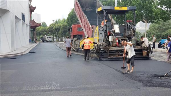 河南沥青道路施工