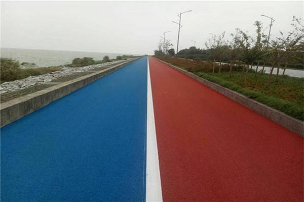 河南彩色沥青施工