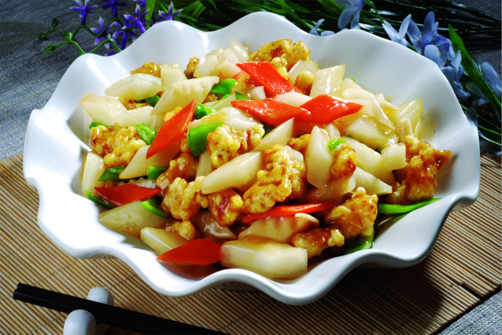 郑州肉段炒冬瓜