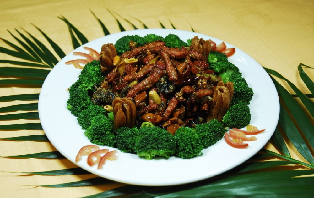菊花蒙古肉