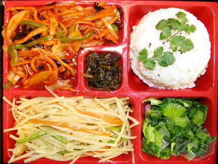 郑州鱼香肉丝米饭套餐