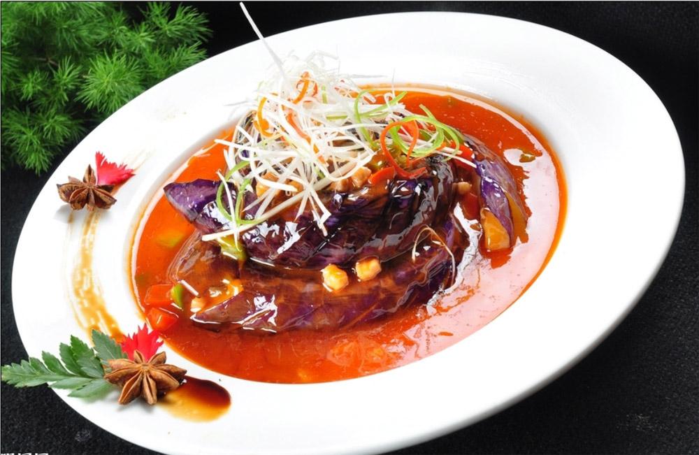 郑州肉酱扒金茄