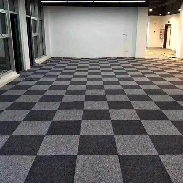 商务方块地毯