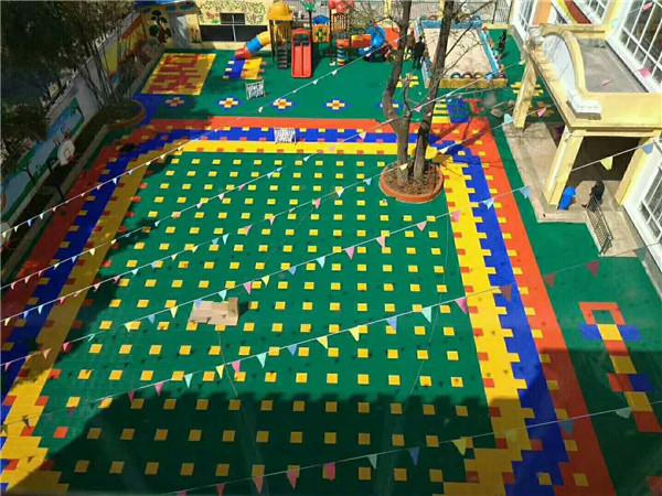 西安室外拼装悬浮地板