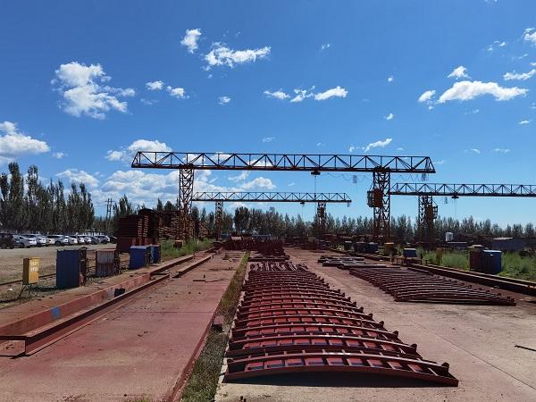 内蒙古兴泰桥梁模板有限责任公司厂区环境
