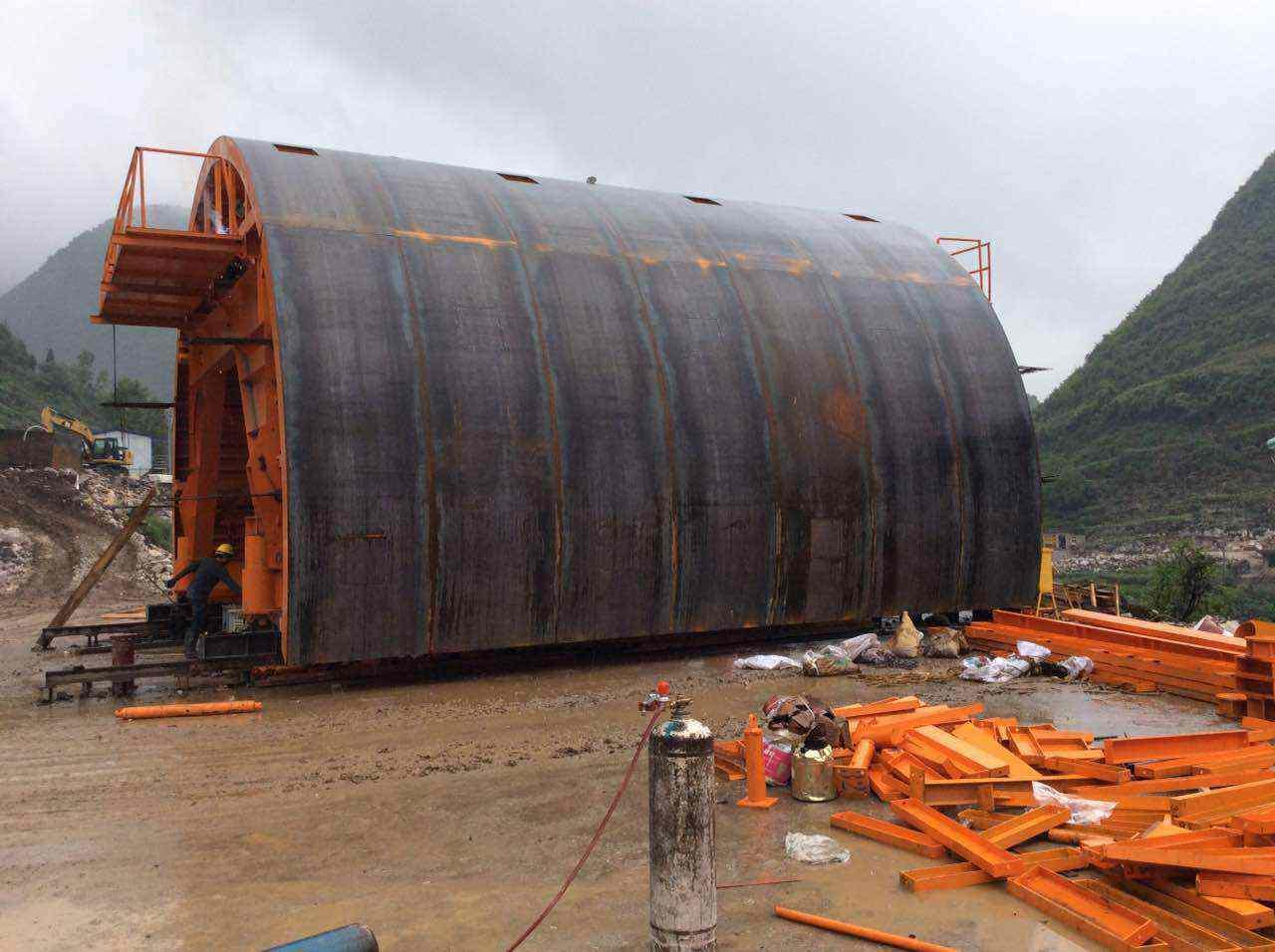 隧道钢模板  台车钢模
